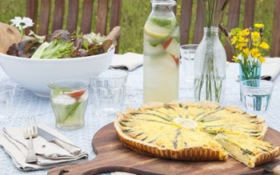 An Early Summer Asparagus Tart
