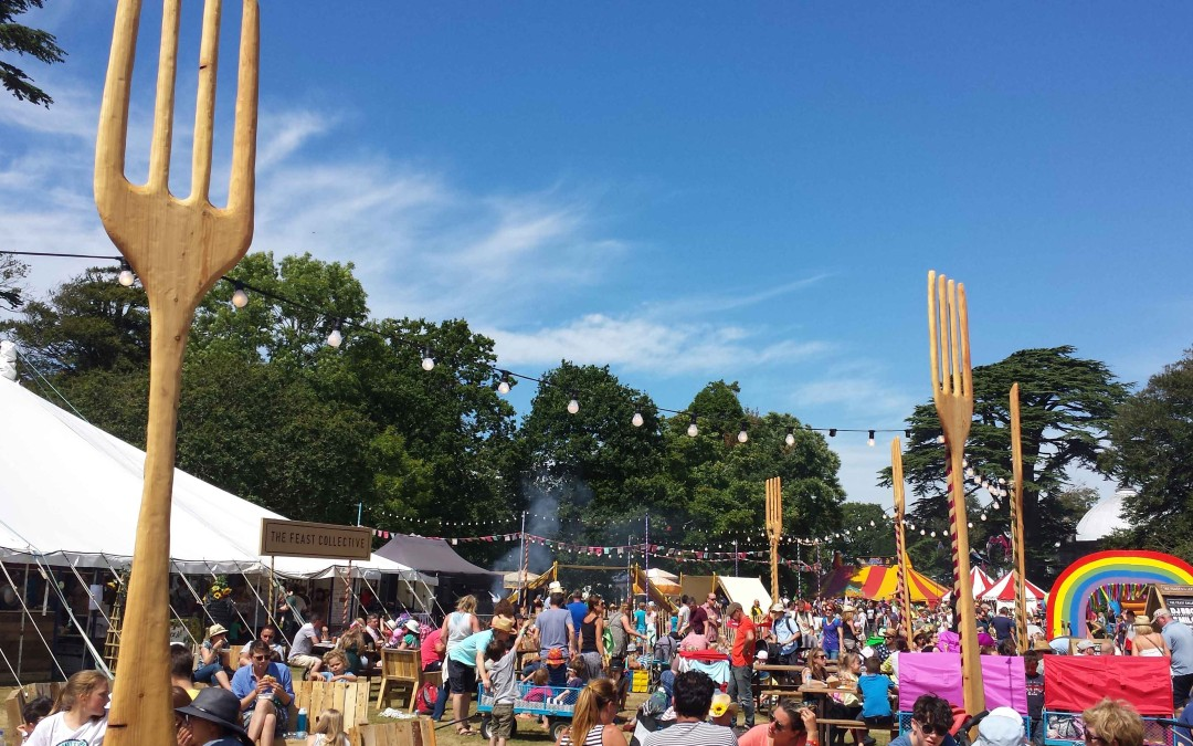 The Feast Collective: very good festival food