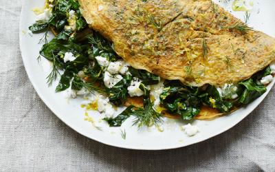 Anna Jones' Green Omelette
