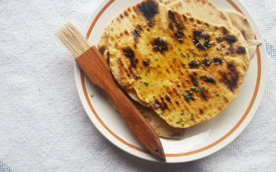 Easy Smoked Water Charred Flatbreads