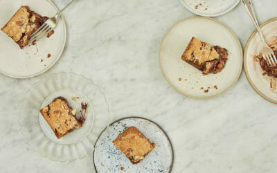 Anna Jones' Almond Smoked Salt Blondies