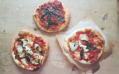 Salt-splashed Pizzette