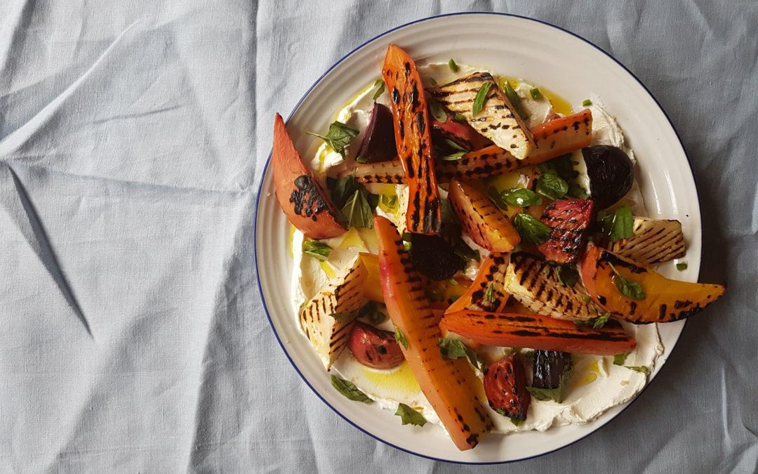 Salt-cured Root Vegetables