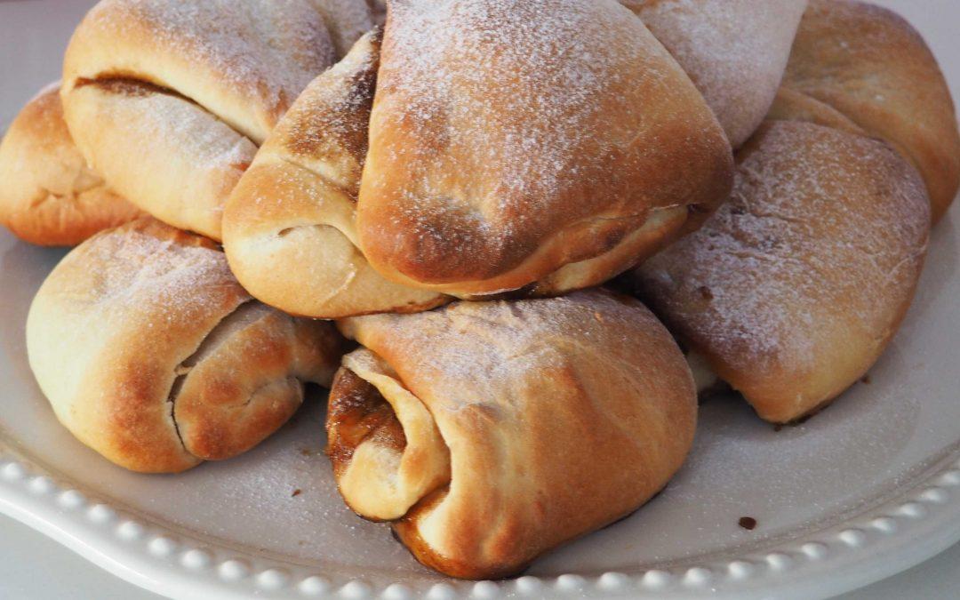 Traditional Welsh honey buns